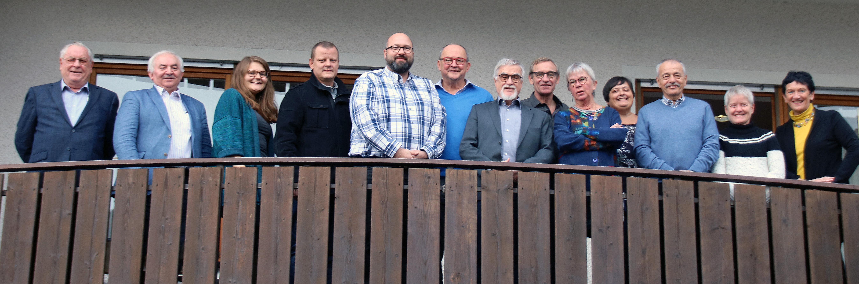 Dieses Bild zeigt das Präsidium des AWO Bezirksverbandes Ober- und Mittelfranken e.V.